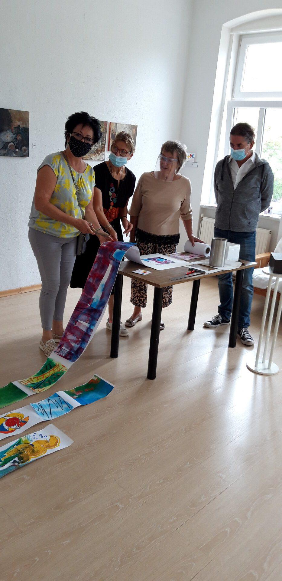 Kunst im Raum - Galerie im ersten Stock: Ausstellung Anna Coucoutas